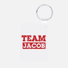 Team Jacob Aluminum Photo Keychain
