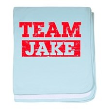 Team Jake baby blanket