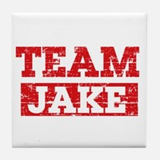 Team Jake Tile Coaster