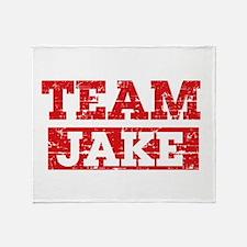 Team Jake Throw Blanket