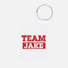 Team Jake Aluminum Photo Keychain