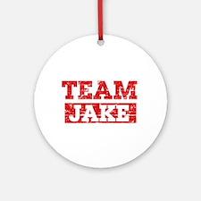 Team Jake Ornament (Round)