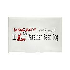 NB_Karelian Bear Dog Rectangle Magnet (10 pack)