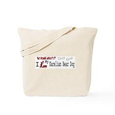 NB_Karelian Bear Dog Tote Bag