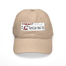 NB_Karelian Bear Dog Baseball Cap
