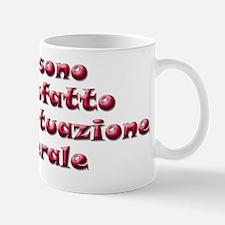 Insoddisfatto, red (italiano) Mug