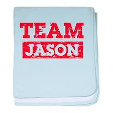 Team Jason baby blanket