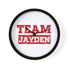 Team Jayden Wall Clock