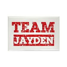 Team Jayden Rectangle Magnet