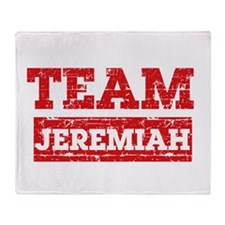Team Jeremiah Throw Blanket