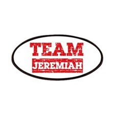 Team Jeremiah Patches