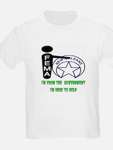 FEMA vs. New Orleans Kids T-Shirt