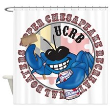 UCRB Crab logo Shower Curtain