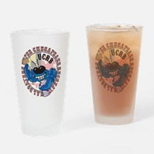 UCRB Crab logo Drinking Glass