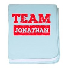 Team Jonathan baby blanket