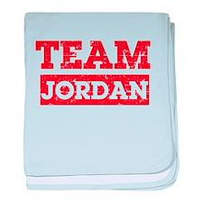 Team Jordan baby blanket