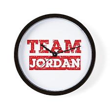 Team Jordan Wall Clock