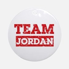 Team Jordan Ornament (Round)