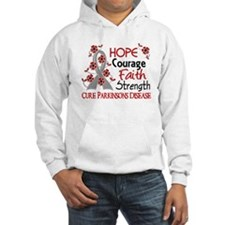Hope Courage 3 Parkinson's Hoodie