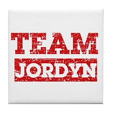 Team Jordyn Tile Coaster