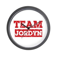 Team Jordyn Wall Clock