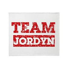 Team Jordyn Throw Blanket