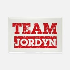 Team Jordyn Rectangle Magnet