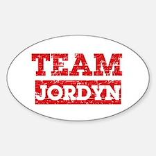 Team Jordyn Decal