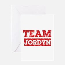 Team Jordyn Greeting Card