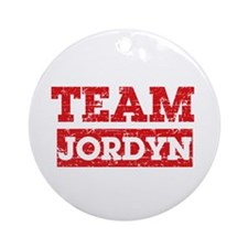 Team Jordyn Ornament (Round)