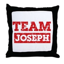 Team Joseph Throw Pillow