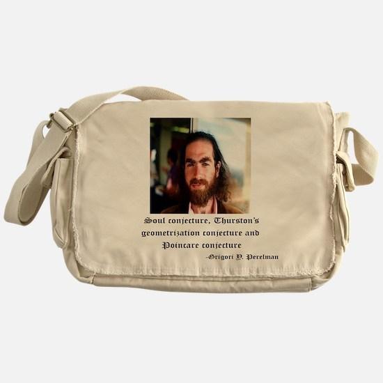 perelman color Messenger Bag