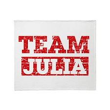 Team Julia Throw Blanket