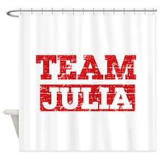 Team Julia Shower Curtain