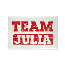 Team Julia Rectangle Magnet