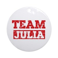 Team Julia Ornament (Round)