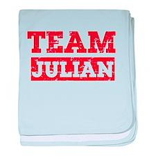 Team Julian baby blanket