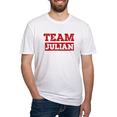 Team Julian Fitted T-Shirt