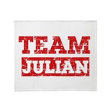 Team Julian Throw Blanket