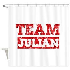 Team Julian Shower Curtain