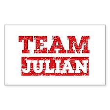 Team Julian Decal
