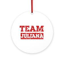 Team Juliana Ornament (Round)