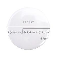 """ramanujan equation 3.5"""" Button (100 pack)"""