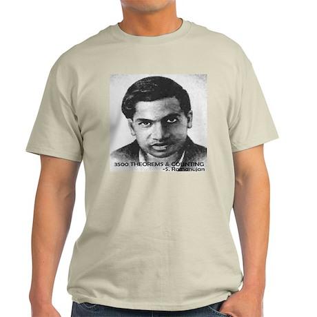 ramanujan 3500 theorems and counting Light T-Shirt