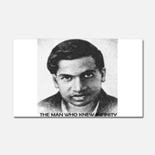 man who knew infinity Car Magnet 20 x 12