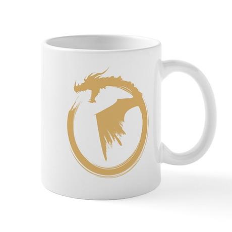 Gold Solid Logo Mug