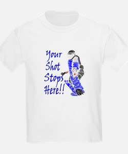 your_shot_stops_here_blue T-Shirt