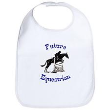 Cute Future Equestrian Horse Bib