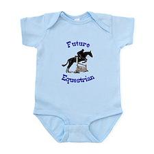Cute Future Equestrian Horse Infant Bodysuit