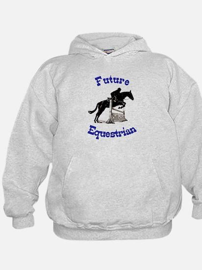 Cute Future Equestrian Horse Hoodie